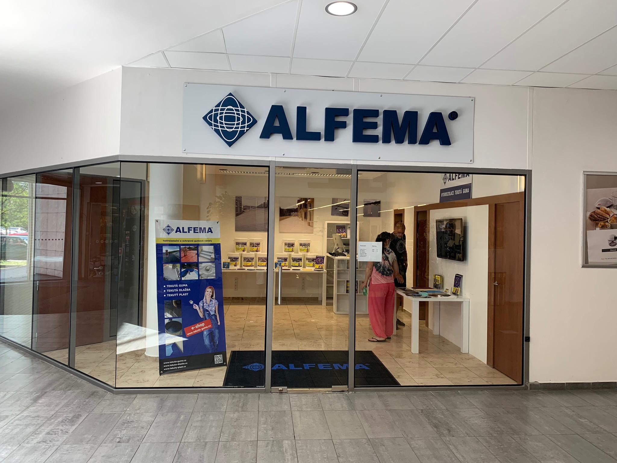 ALFEMA SHOWROOM CZ OTVORENÝ!